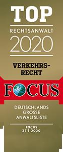 TOP Rechtsanwalt 2020