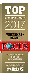 Rechtsanwälte Fincke - Focus Top Rechtsanwalt für Verkehrsrecht 2017
